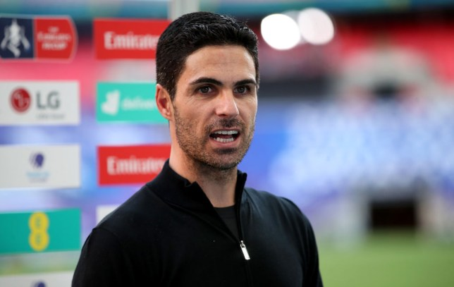 Arteta was delighted after the final whistle