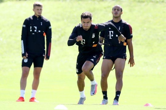 Thiago Alcantara FC Bayern Muenchen - Training Session