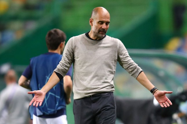Manchester City slumped to a shock 3-1 defeat against Lyon in the Champions League