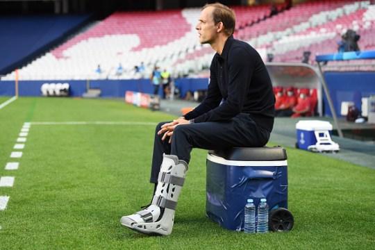 Thomas Tuchel's side will face Bayern Munich or Lyon in Sunday's final