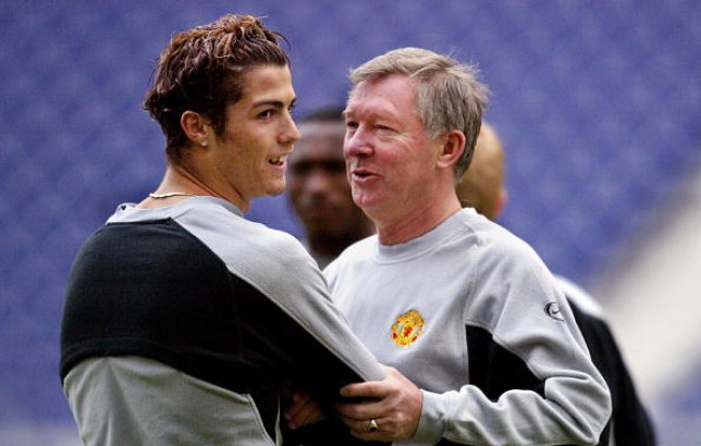 Sir Alex Ferguson signed Cristiano Ronaldo from Sporting Lisbon in the summer of 2003