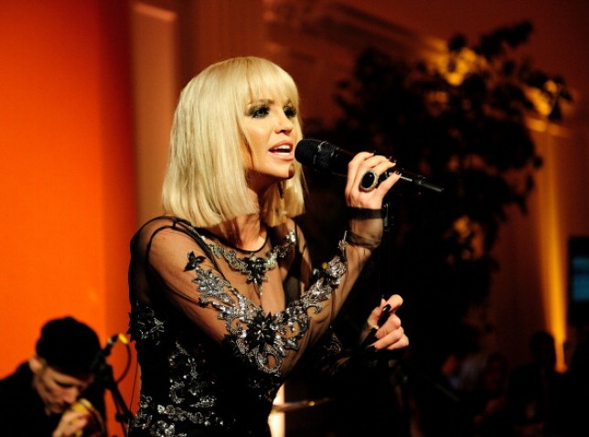 Sarah Harding Performs At Kensington Palace In London