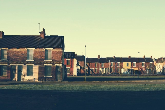 Houses Against Clear Sky in middlesboroguh