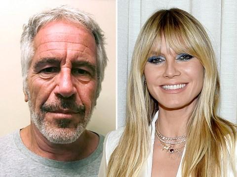 Heidi Klum denies travelling on Jeffrey Epstein's private jet: 'Totally false'
