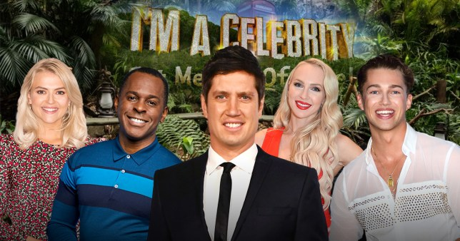 the rumoured cast of i'm a celebrity 2020