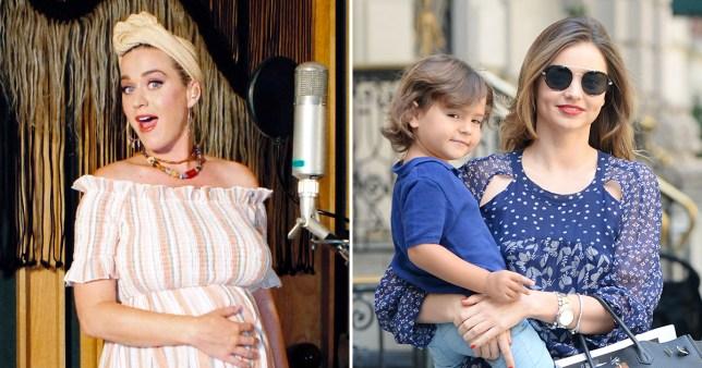 Katy Perry Hits up Miranda Kerr for parenting tips