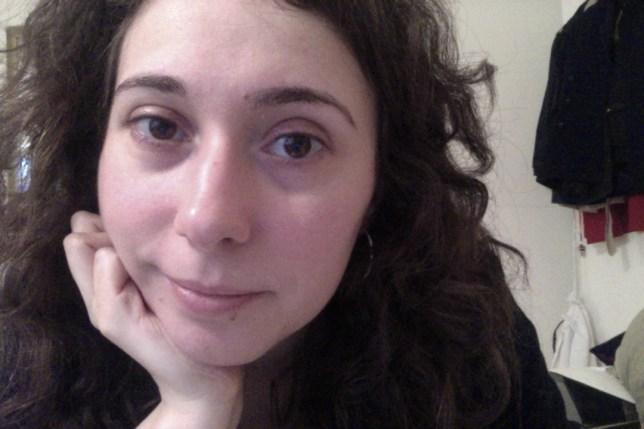 Close-up of psychotherapist Katerina Georgiou's face