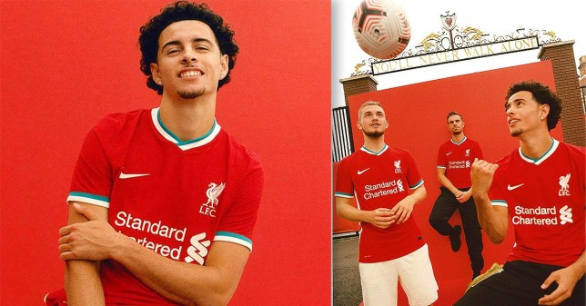 New 2020/21 Liverpool kit