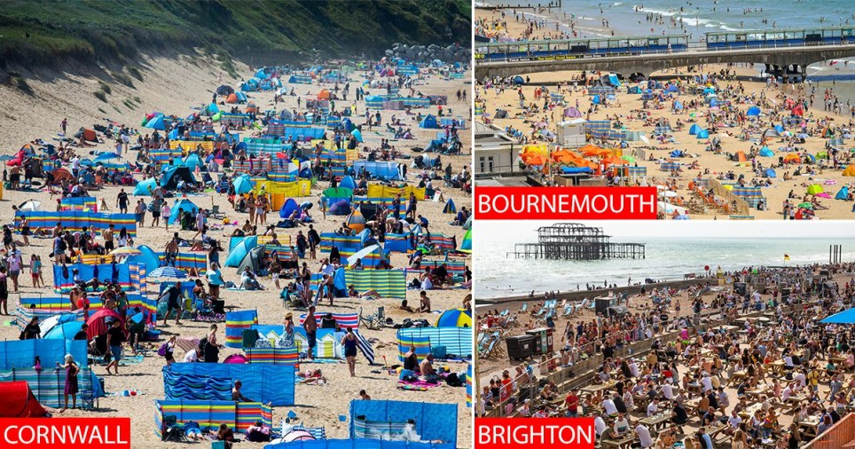 Cornwall has been branded 'Benidorm on steroids' after massives crowds ignoring social distancing left some locals 'scared to leave their homes'.
