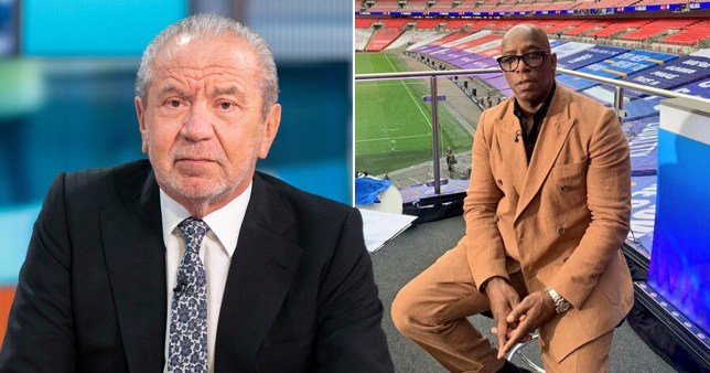 Lord Alan Sugar Ian Wright