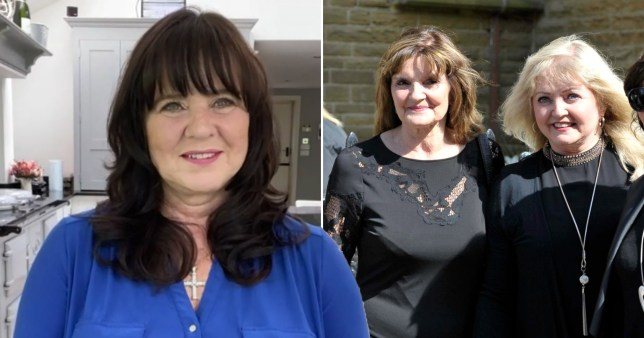 Coleen Nolan pictured alongside sisters Anne and Linda