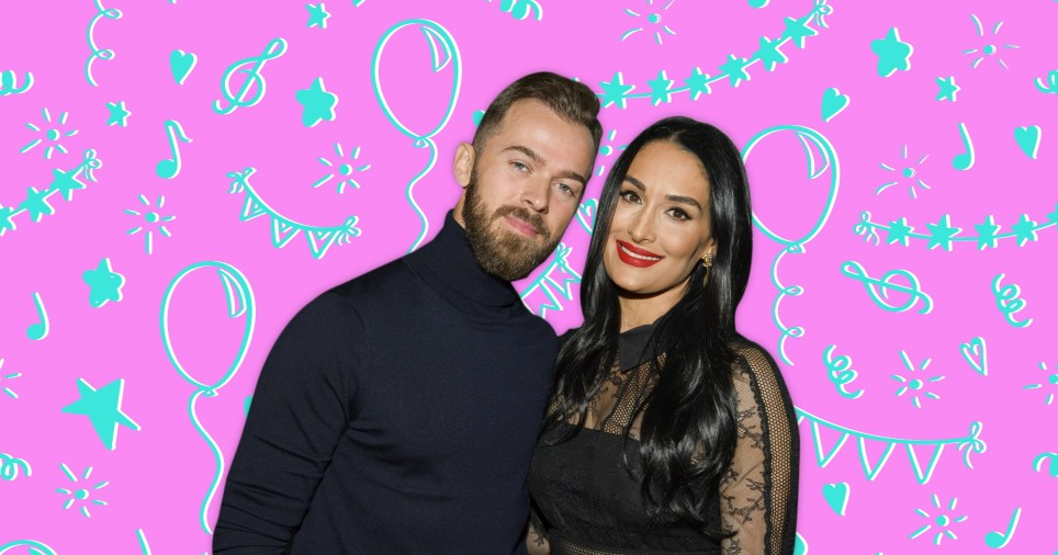 Nikki Bella pictured with Artem Chigvintsev