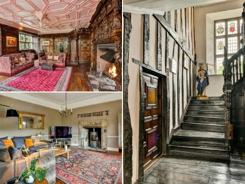Live like King Charles I in £3.5 million mansion where monarch stayed in 1600s
