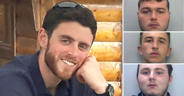 Composite image PC Harper and killers