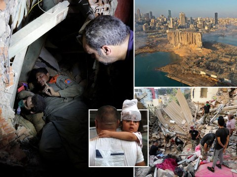 Death toll passes 100 as search for bodies in rubble begins