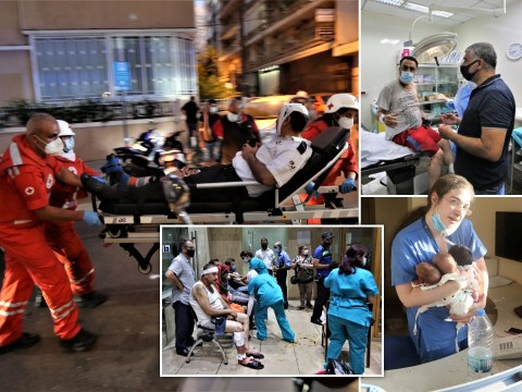 Beirut's hospitals overwhelmed with medics forced to turn wounded away