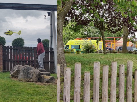 Theme park worker 'seriously injured' after incident involving ride