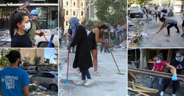 Les travailleurs humanitaires à Beyrouth ont mis à nu les ravages causés par l'explosion d'un port maritime qui a ravagé la capitale libanaise.