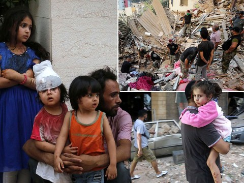 Up to 80,000 children homeless after Beirut explosion