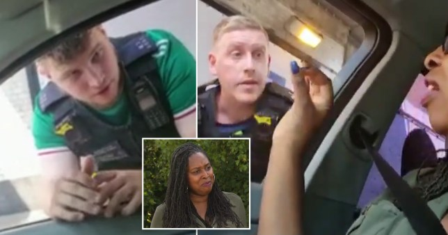 Labour MP Dawn Butler was stopped by police on Sunday afternoon while driving through Hackney with a friend.