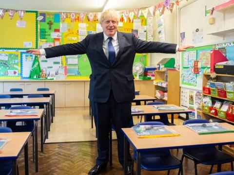 Boris Johnson promises to 'fully' reopen schools in weeks