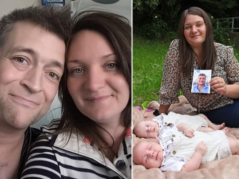 Widow gives birth to husband's twins through IVF three years after he died from throat cancer
