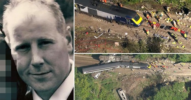 Brett McCullough has been named locally as the train driver who was killed in the crash in Stonehaven.