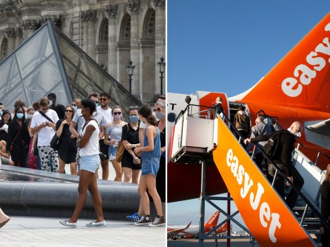 EasyJet cancels all package holidays to France after quarantine announcement