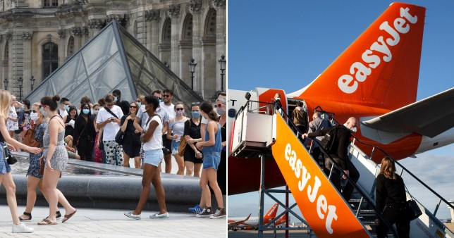 EasyJet and France