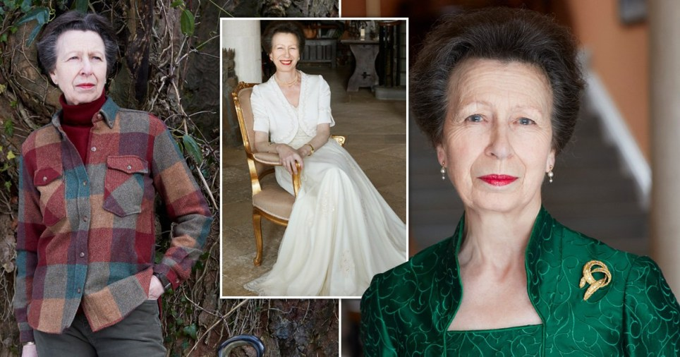 New images of Princess Anne released to mark her 70th birthday