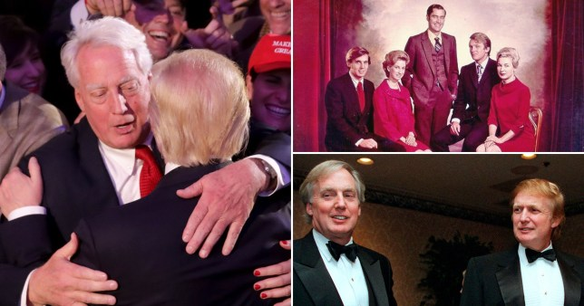 Donald Trump's younger brother Robert dies in New York aged 71.