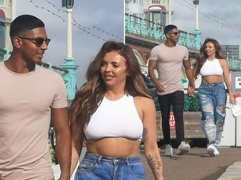Jesy Nelson goes public with new man Sean Sagar on cute seaside date in Brighton