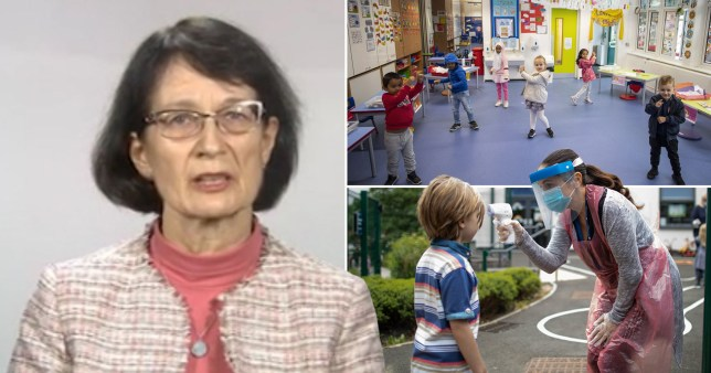 Dr Jenny Harries backed calls for children to return to the classroom