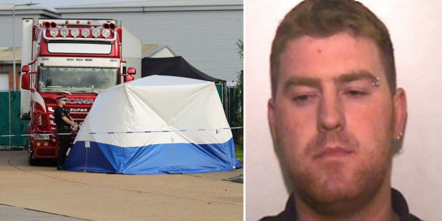 Ronan Hughes has admitted his part in causing the deaths of the migrants