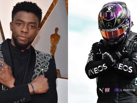 Lewis Hamilton dedicates race at Belgian Grand Prix to Chadwick Boseman following his death