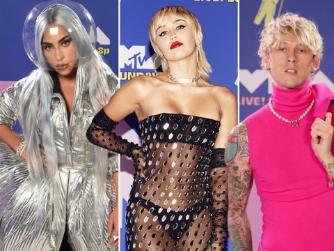 MTV VMAs 2020 red carpet: All the best looks from Lady Gaga and Miley Cyrus to Machine Gun Kelly