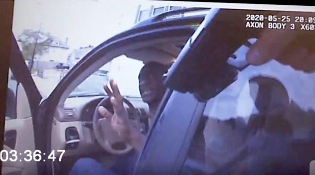 Body cam footage in George Floyd case leaked