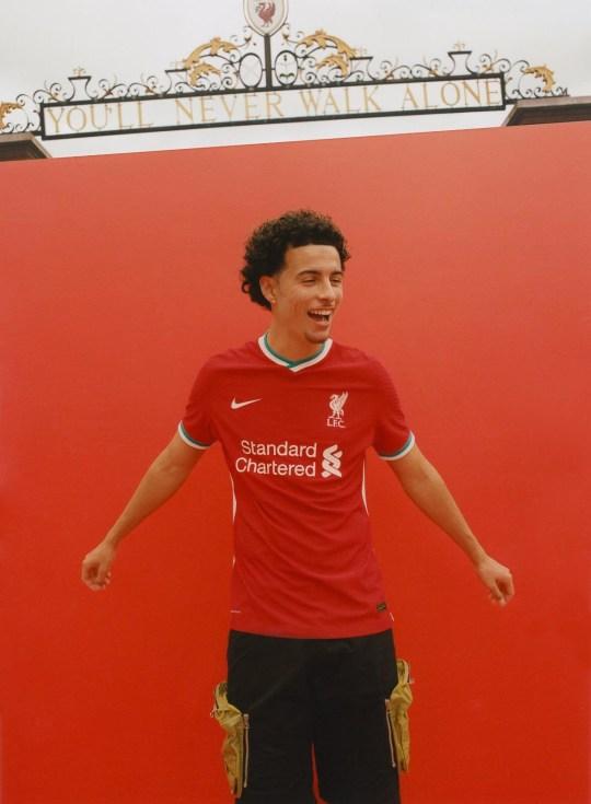 New Liverpool kit Picture: @curtisjr_10 METROGRAB