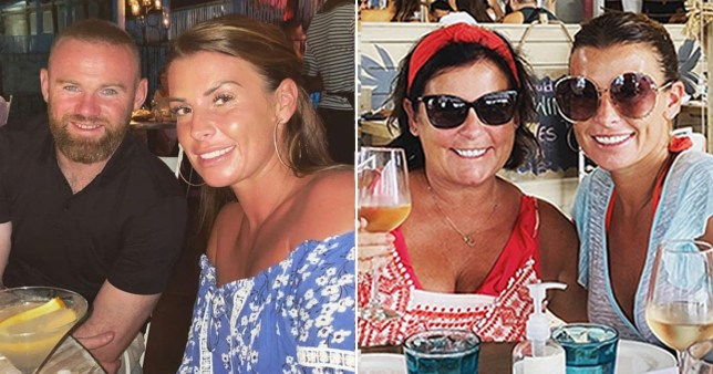Coleen Rooney denies pregnancy rumours after 'unflattering' holiday photos