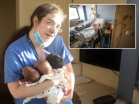 Hero nurse saves three babies in hospital rocked by Beirut explosion