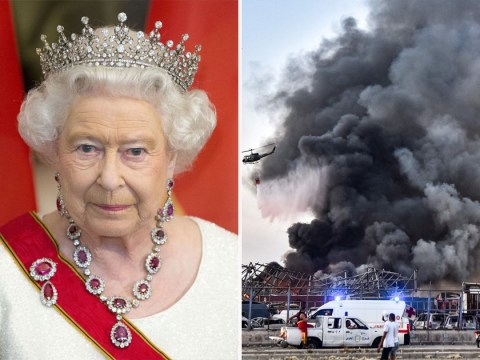 Queen sends message of support to Beirut and says she's 'deeply saddened'