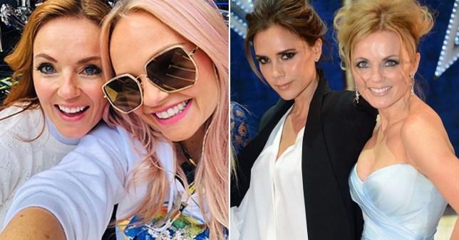 Victoria Beckham and Emma Bunton wish Geri Horner a happy birthday with throwback snaps
