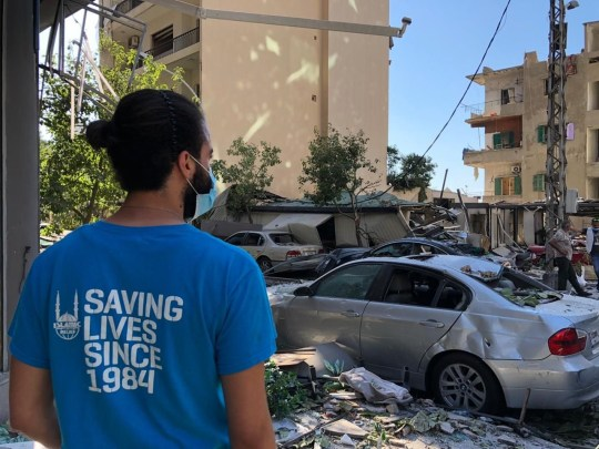 `` Nous verrons la famine dans une semaine '': les travailleurs humanitaires décrivent le traumatisme de l'explosion de Beyrouth
