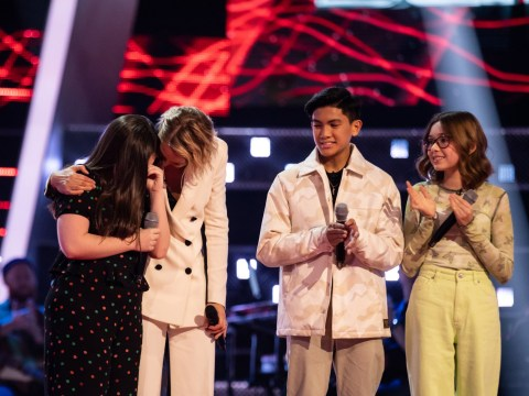 The Voice Kids viewers in tears as Gracie gets through battle rounds after being rejected last year