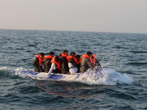 I've been forced to flee my home and risk my life in a dinghy – it can happen to anyone