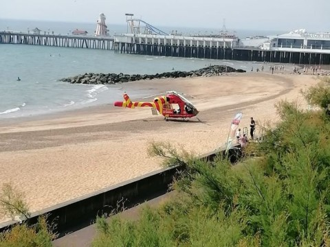Man in his 60s dies after being pulled from sea