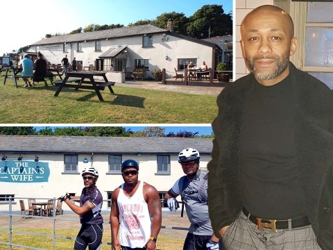 Pub refused three black cyclists a table but let two white men in after they arrived