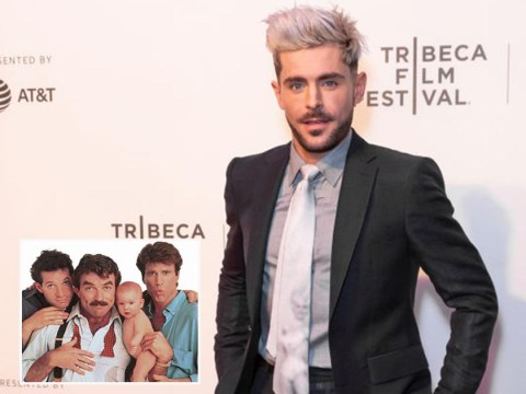Zac Efron 'leading the cast of Three Men and a Baby reboot' for Disney Plus