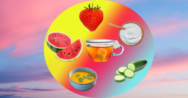 Best foods to eat in hot weather