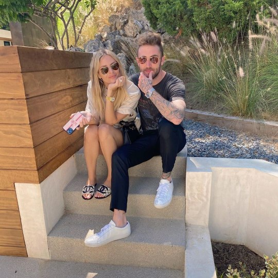 Morgan Stewart reveals she's pregnant and expecting a baby girl with Dr Phil's son Jordan McGraw